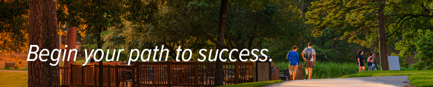 Begin your path to success.