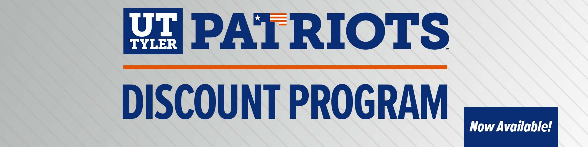 Patriots Discount Program - Now Available!