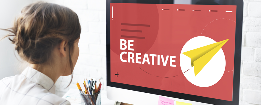 Let's get creative - call your graphic designer