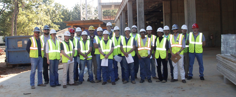 CMGT Students at Job Site