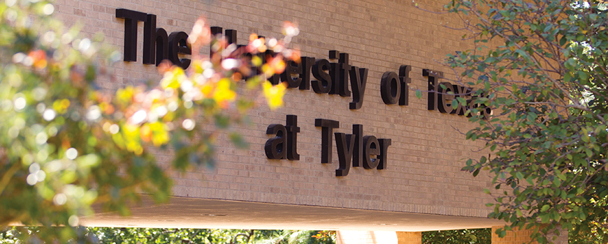 UT Tyler Sign