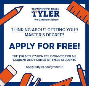 Application Fee Waiver UT Tyler