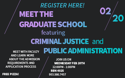 Criminal Justice and MPA Lunch & Learn
