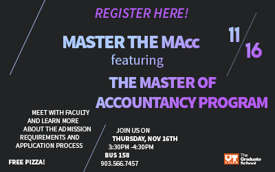 Meet The Graduate School featuring Accountancy