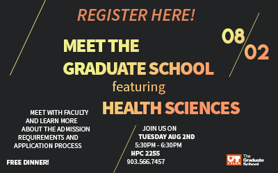 Meet The Grad School featuring Health Sciences