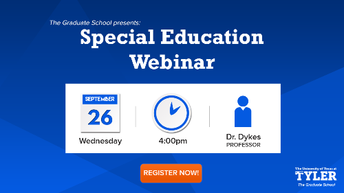 Special Education Webinar