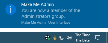 make me admin confirmation