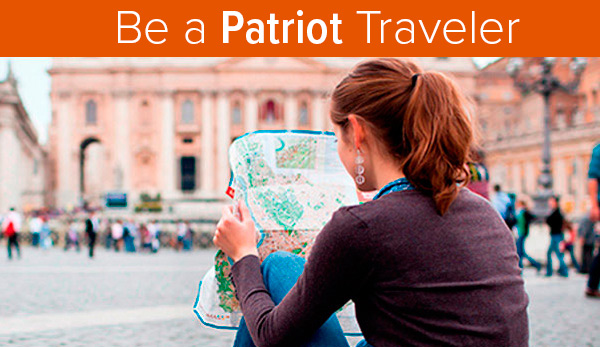 Be a UT Tyler Patriot Traveler