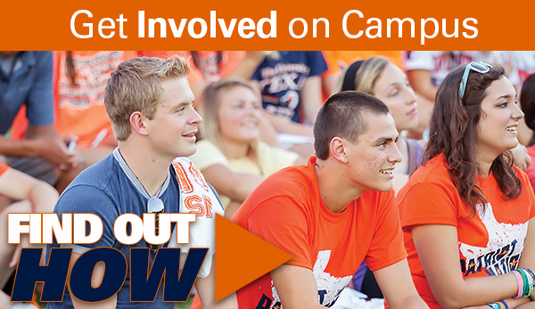 Get Involved on Campus  - Find Out How