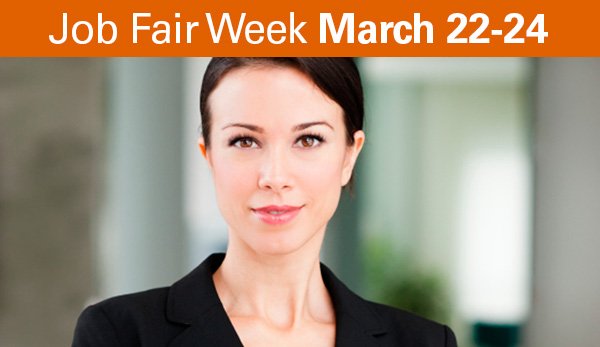 Job Fiar Week March 22-24 at UT Tyler