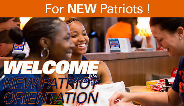 Welcome New Patriots