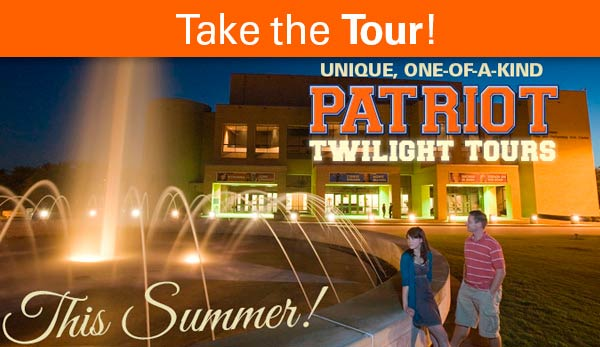Take the Twilight Tour at UT Tyler