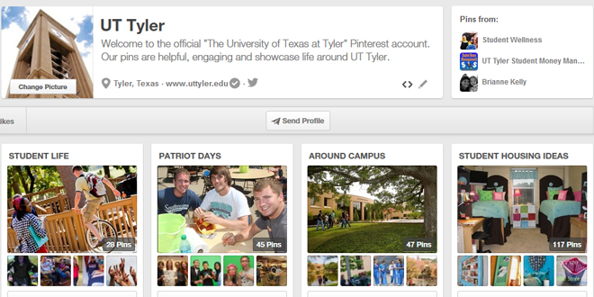UT Tyler on Pinterest